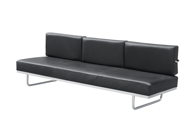 lc5 sofa price cost to recover a chesterfield fine mod imports in black leather larger photo