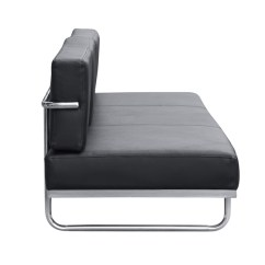 Lc5 Sofa Price How To Repair Leather Rip Fine Mod Imports In Black
