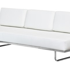 Lc5 Sofa Price Target Bed With Chaise Fine Mod Imports In White Leather Larger Photo