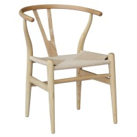 Fine Mod Imports Hans Wegner Wishbone Chair Set Of 2