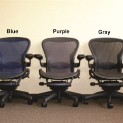 Herman Miller Chair Sizes Black Kitchen Chairs Aeron Size B Fully Featured In Green Refurbished Our