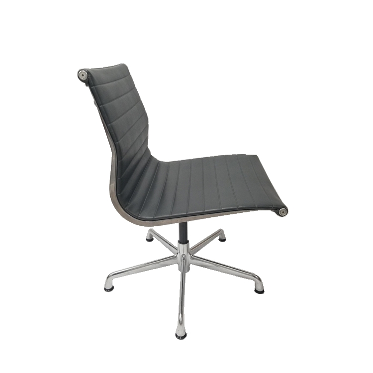 office chair without arms boston interiors chairs herman miller eames aluminum group management side no larger photo