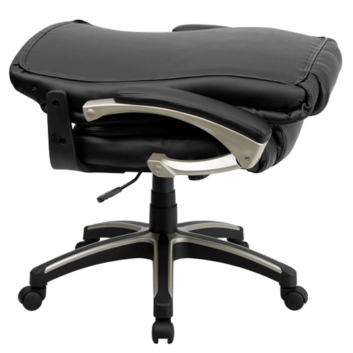 black leather office chair high back oxo seedling review flash furniture fla bt 9875h gg folding categories