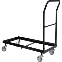 Folding Chair Dolly Visitor Flash Furniture Fla Hf 700 Gg Br