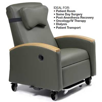 invacare clinical recliner geri chair gym chest lumex fr597 ortho biotic orth ii