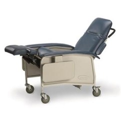 Invacare Clinical Recliner Geri Chair Low Back Computer Geriatric Ih6077a Comfortable Patient Seating