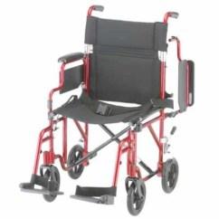 Transport Wheelchair Nova Rei Beach Chairs With Removable Arms Comet 349 Model