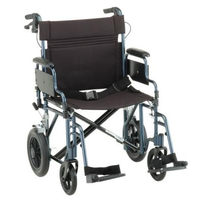 transport wheel chair small leather chairs for living room heavy duty wheelchair nova comet 332