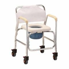Chair With Wheels Folding Tesco Nova 8800 Shower Commode Rolling Rehab