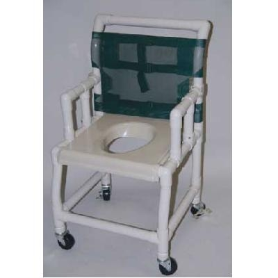 21 PVC Shower and Commode Chair with DropArm  SC6013WVAC