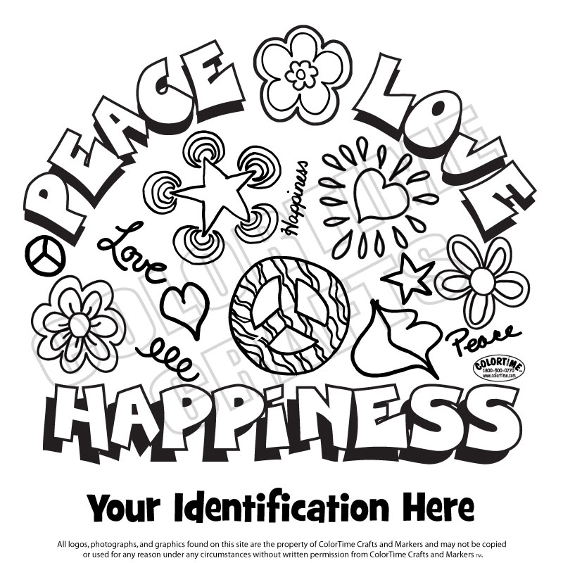 124: Peace Love Happiness
