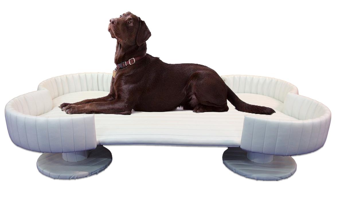 Extra Large Dog Bed Bone Shape