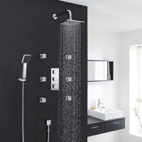 Fontana Wall ceiling shower head shower body jets hand ...