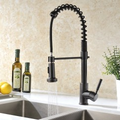 Wall Mounted Kitchen Faucet With Sprayer Target Cabinet Caseros Oil Rubbed Bronze Sink Pull ...