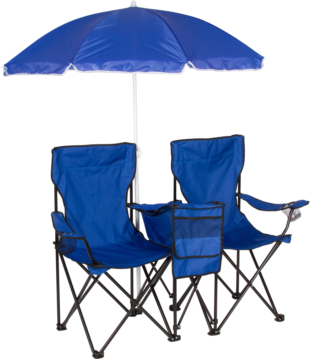 Double Folding Camping Chair Double Folding Camp And Beach Chair With Removable