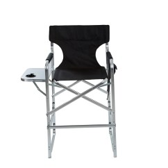 Tall Folding Chairs Directors Chair Self Defense Aluminum Frame Metal Director S With Side Table By Metaldirec Bl 2 Jpg 1448439551