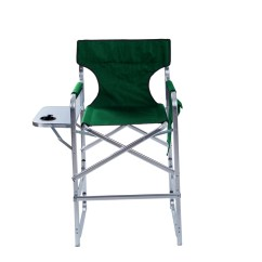 Tall Directors Chair With Side Table Covers East Yorkshire Aluminum Frame Metal Director 39s