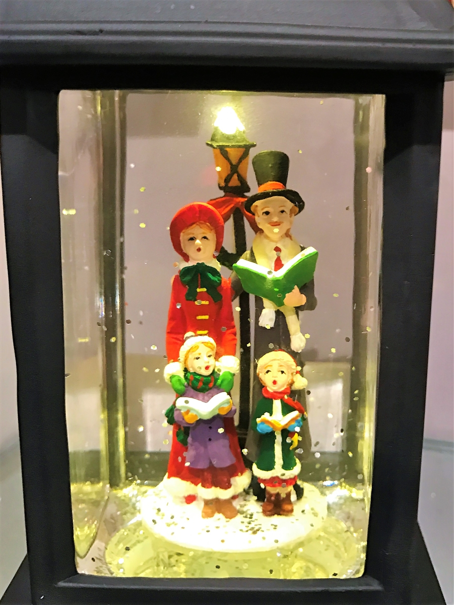 Raz Imports 95 CAROLER LIGHTED WATER LANTERN