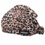 biker leopard print dooz hair band
