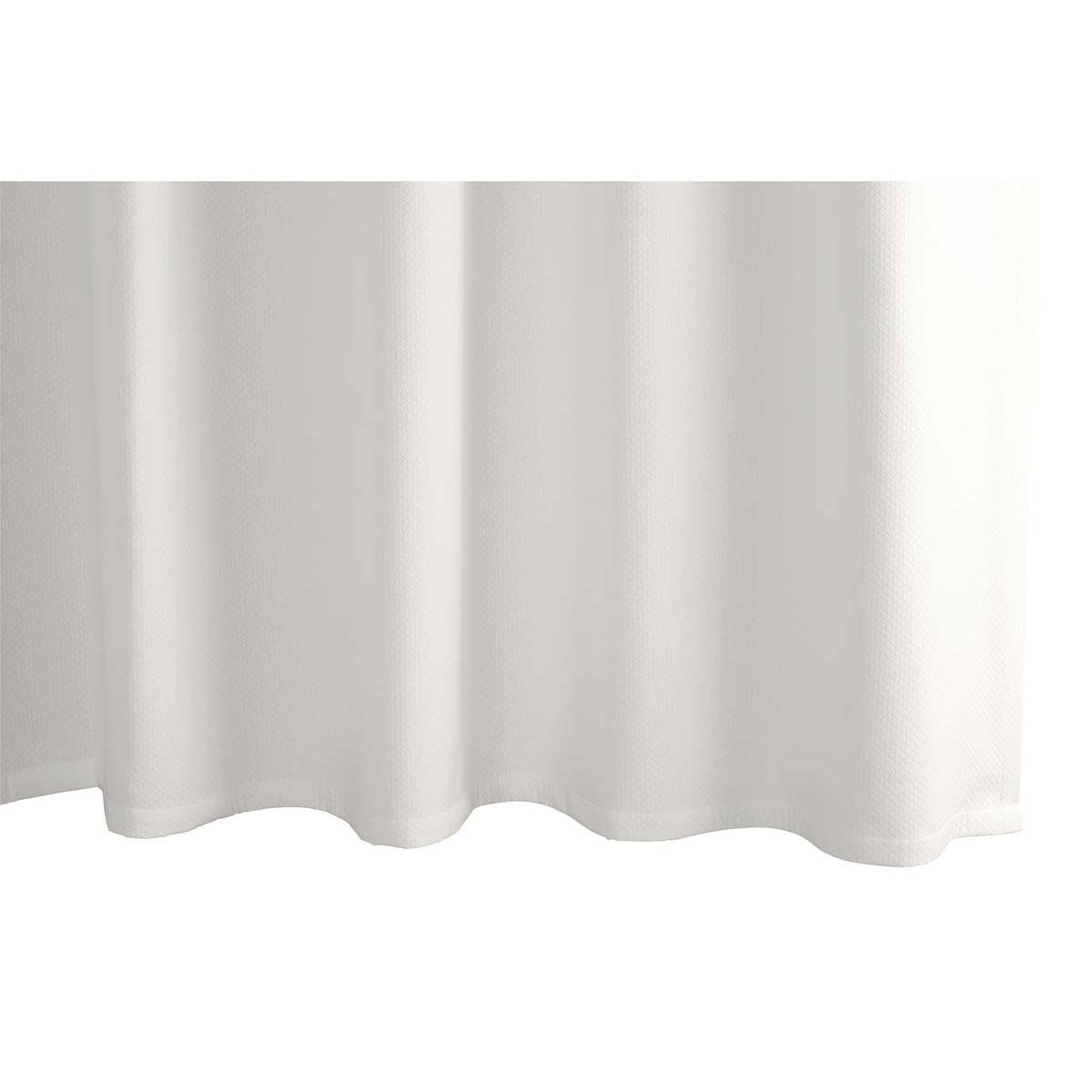 diamond pique shower curtain by matouk