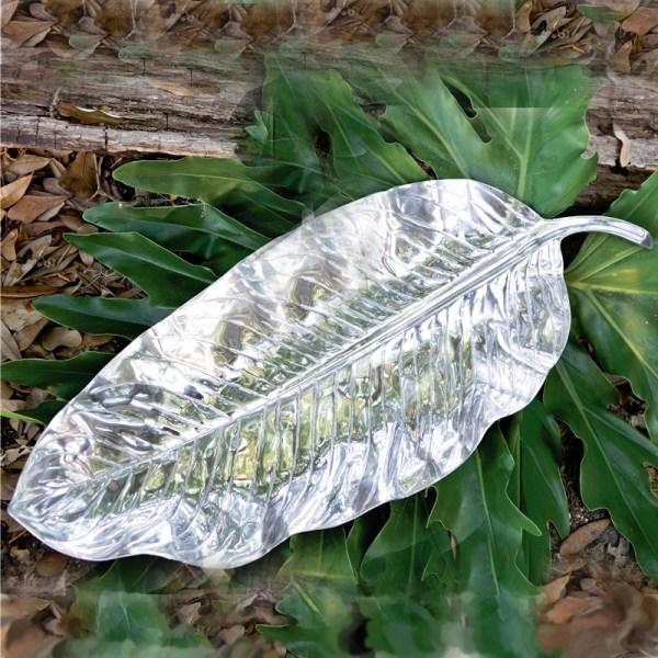 Beatriz Ball - Garden Zebra Leaf Platter Large