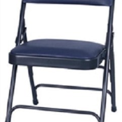Wholesale Folding Chairs Dining Room Chair Seat Covers Waterproof Discount Prices Metal Georgia Blue Vinyl