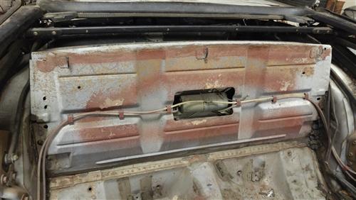 1968 Camaro Wiring Harness Retainer Clips 1967 1969 Firebird Rear Seat Trunk Divider Panel