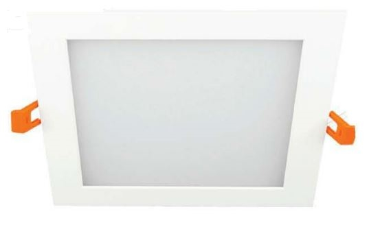 led thin square recessed light 16 watts 6 inch 5000k