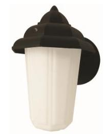 maxlite outdoor pagoda lantern black 12w bulb included 2700k
