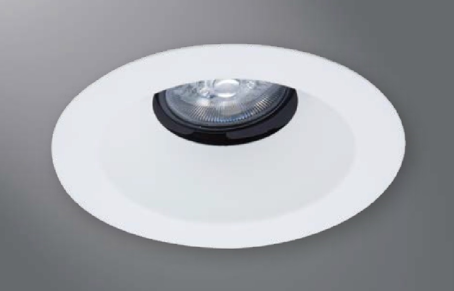 halo recessed lighting 1430mwwf 4 conical reflector open trim 35 tilt matte white white flange