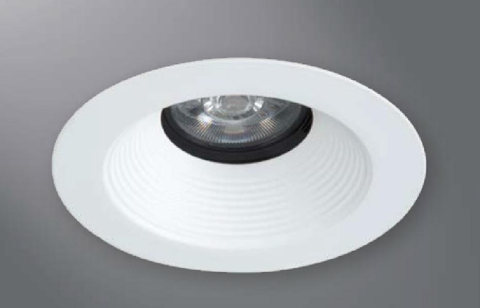 halo recessed lighting 1431bbwf 4 conical baffle open trim 35 tilt black baffle white flange