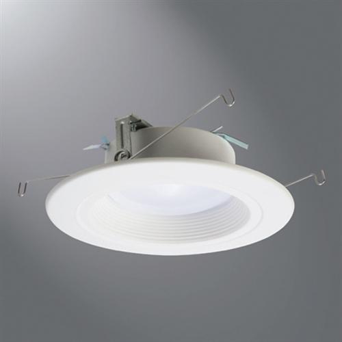 halo recessed rl560wh9940 5 led retrofit baffle trim 4000k 1000 lumens white finish