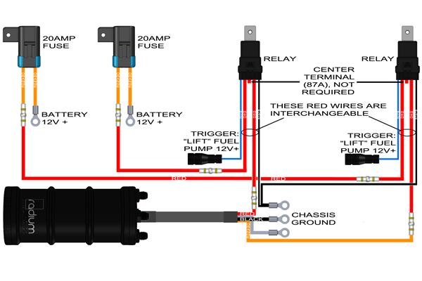 radium diy fuel pump wiring kit