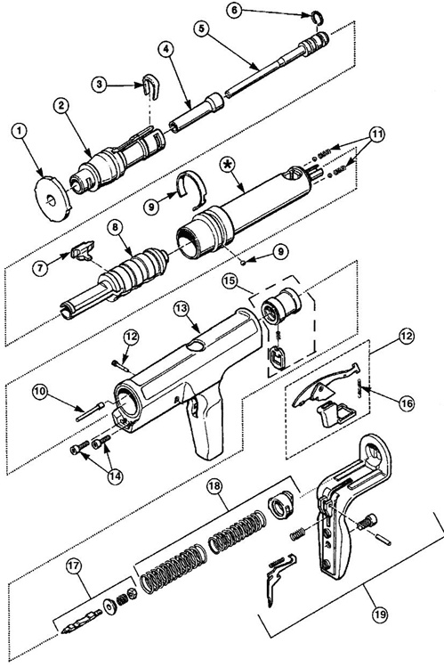 Hilti Replacement Parts