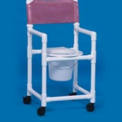 Pvc Commode Chair Minnie Mouse Ipu Shower - 300 Lbs Weight Capacity