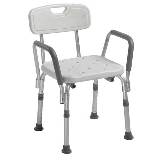 drive shower chair weight limit ice fishing with back and removable arms larger photo