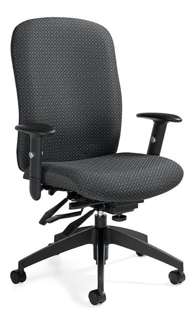 ergonomic computer chair jessica charles delta swivel global truform 5450 3 intensive use with alternative views
