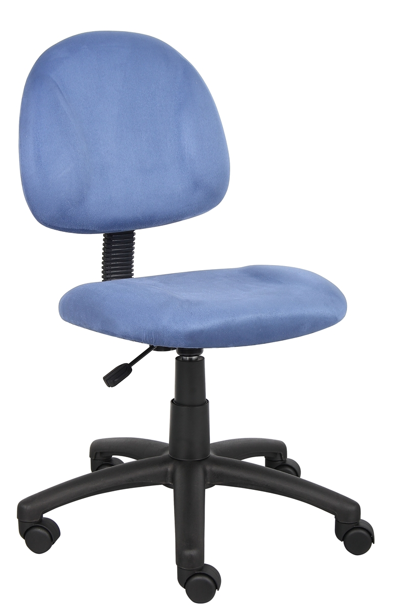 microfiber office chair damask covers boss blue chairs model b325 be by norstar categories
