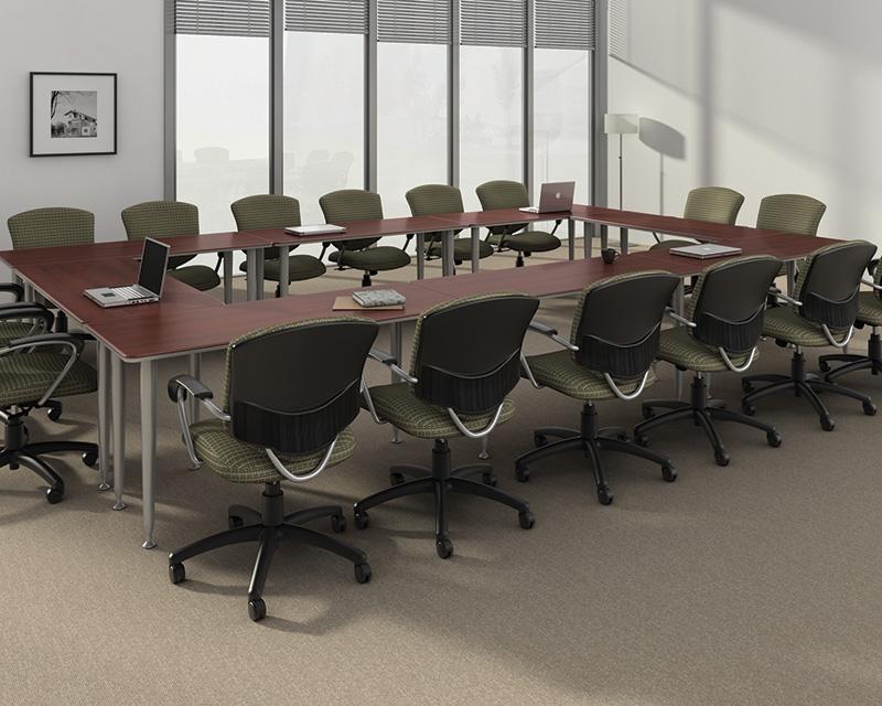 Global Bungee Modular Training Room Tables