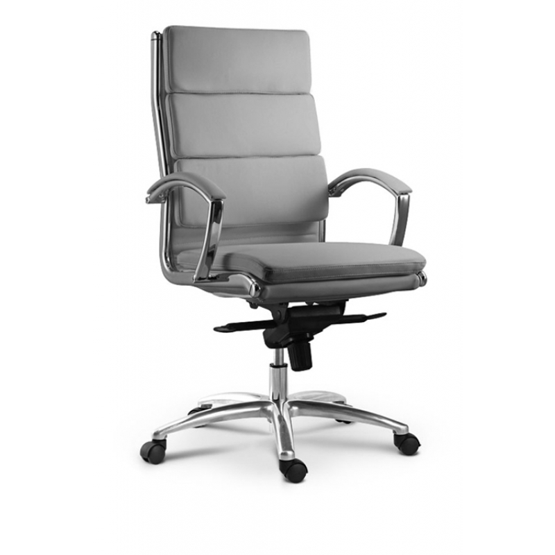 modern grey leather office chair best chairs inc reviews livello cd 307h stocked in black alternative views