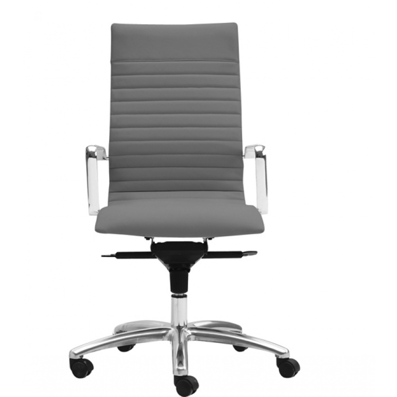 modern grey leather office chair sams club chairs zetti high back in white charcoal and alternative views
