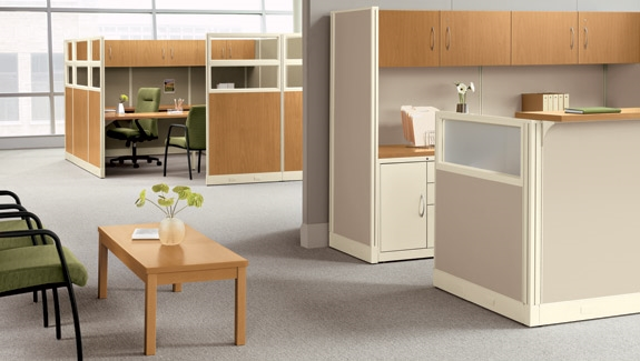 Hon Initiate Modern Cubicles From Boca Raton Office Furniture