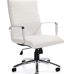 Modern White Desk Chair Faux Bamboo Dining Chairs Office Offices To Go Otg11730 In The Boca Raton