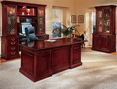 wood and leather executive office chairs target side dmi traditional desk series governors keswick collections.