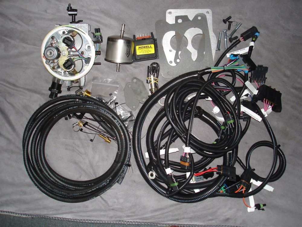 medium resolution of howell throttle fuel injection system with distributor harness ebl flash and electronic distributor