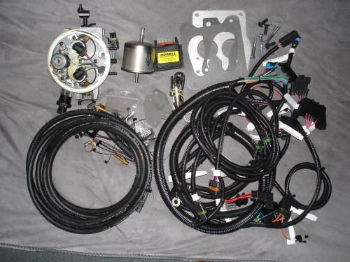 small resolution of howell throttle fuel injection system with distributor harness ebl flash and electronic distributor