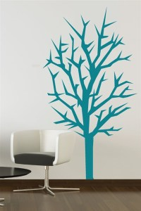 Christmas Wall Decals - Winter Tree