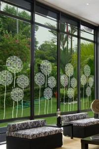 Balloons Glass Decal