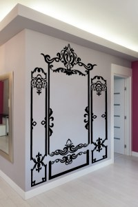 Wall Decals Baroque Molding- WALLTAT.com Art Without ...