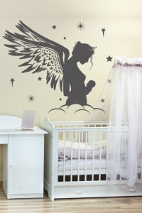 Nursery Wall Decals-Mother Fairy- WALLTAT.com Art Without ...